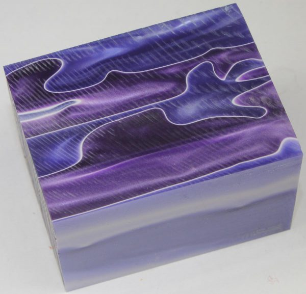 Blue Purple Swirl