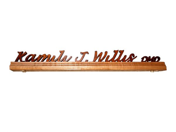 Desk Name Plate 15 or more letters